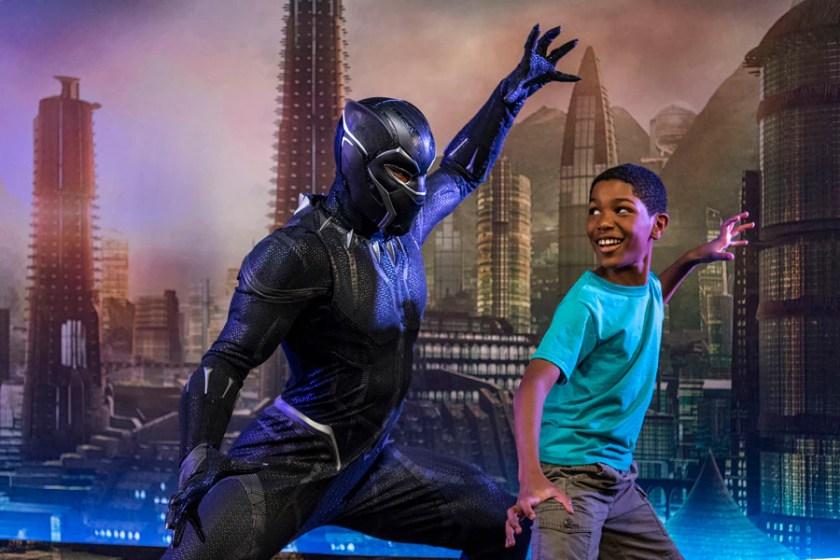 Encuentros de personajes a bordo de Disney Cruise Line: Black Panther
