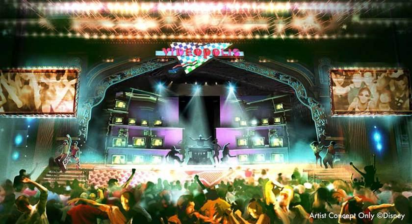 Videopolis: la clásica fiesta de baile en video musical de Disneyland