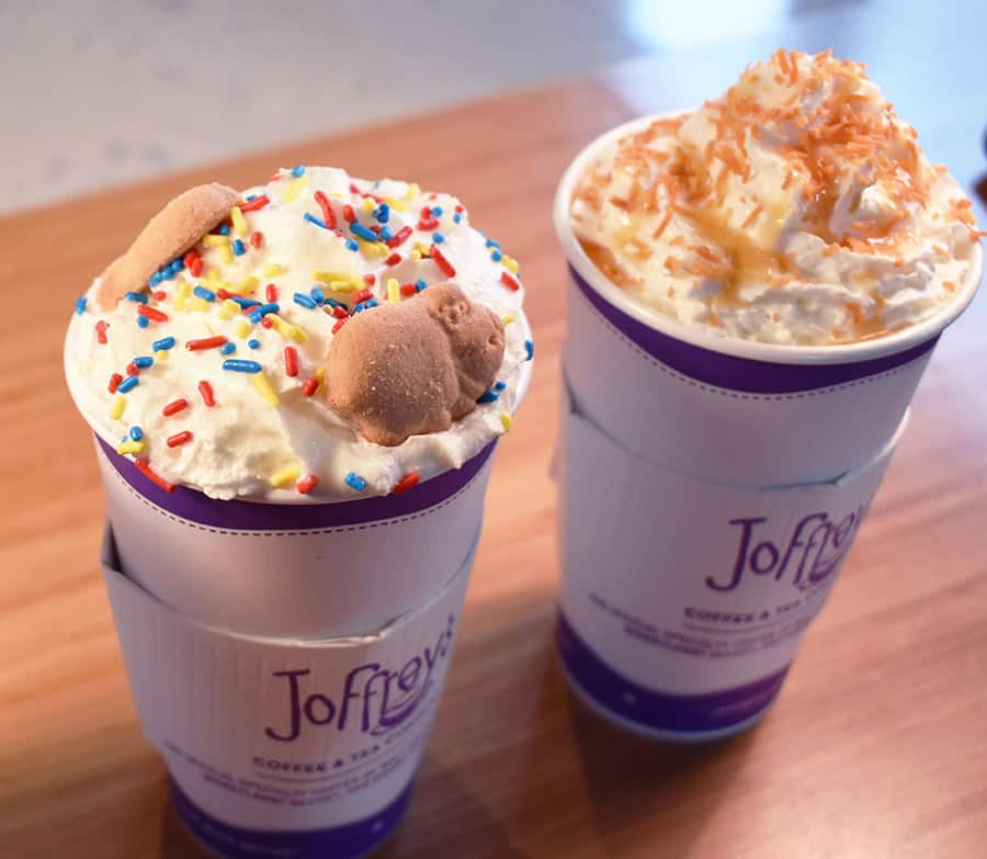 Joffrey's Coffee and Tea at Disney Springs signature drinks