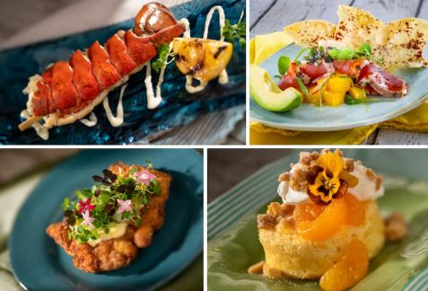 Offerings from the Citrus Blossom Outdoor Kitchen for the 2020 Epcot International Flower & Garden Festival