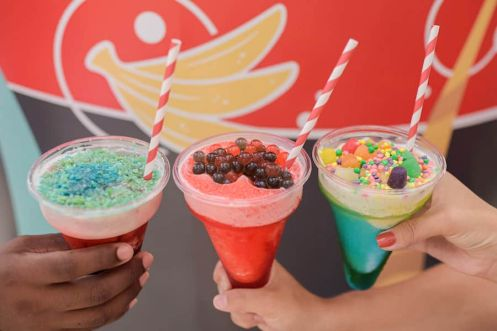 Customizable Slushies from Cool Wash for the 2020 Epcot International Flower & Garden Festival