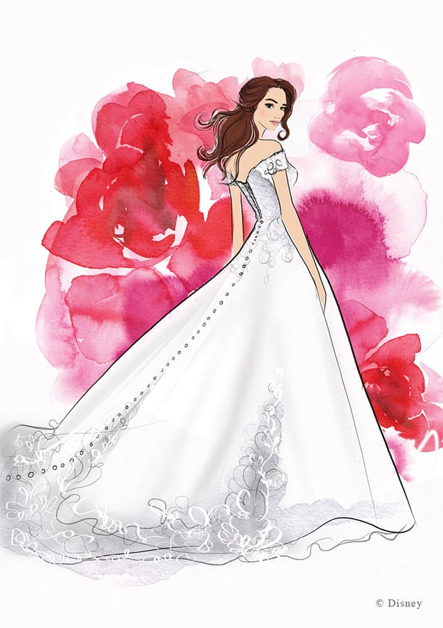 Disney Fairy Tale Weddings Collection from Allure Bridals - Belle