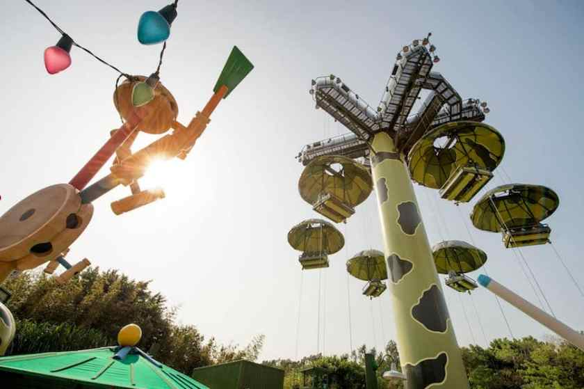 Toy Story Land, Parque Disneyland de Hong Kong