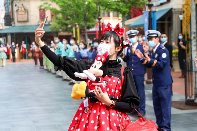 Invitado en Shanghai Disneyland