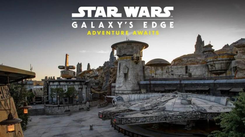 """Foto especial de televisión """"Star Wars: Galaxy's Edge: Adventure Awaits"""""""