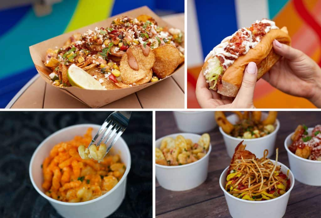 Dishes from Disney Food Trucks for Weekday Delights at Disney Springs for the Fall 2020 Season
