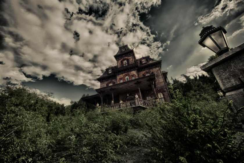 Phantom Manor en Disneyland Paris