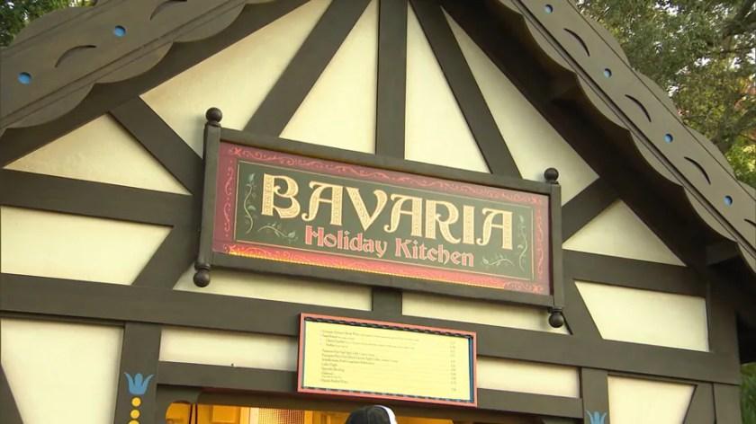 Bavaria Holiday Kitchen en EPCOT durante el Festival Internacional de las Fiestas Taste of EPCOT presentado por AdventHealth