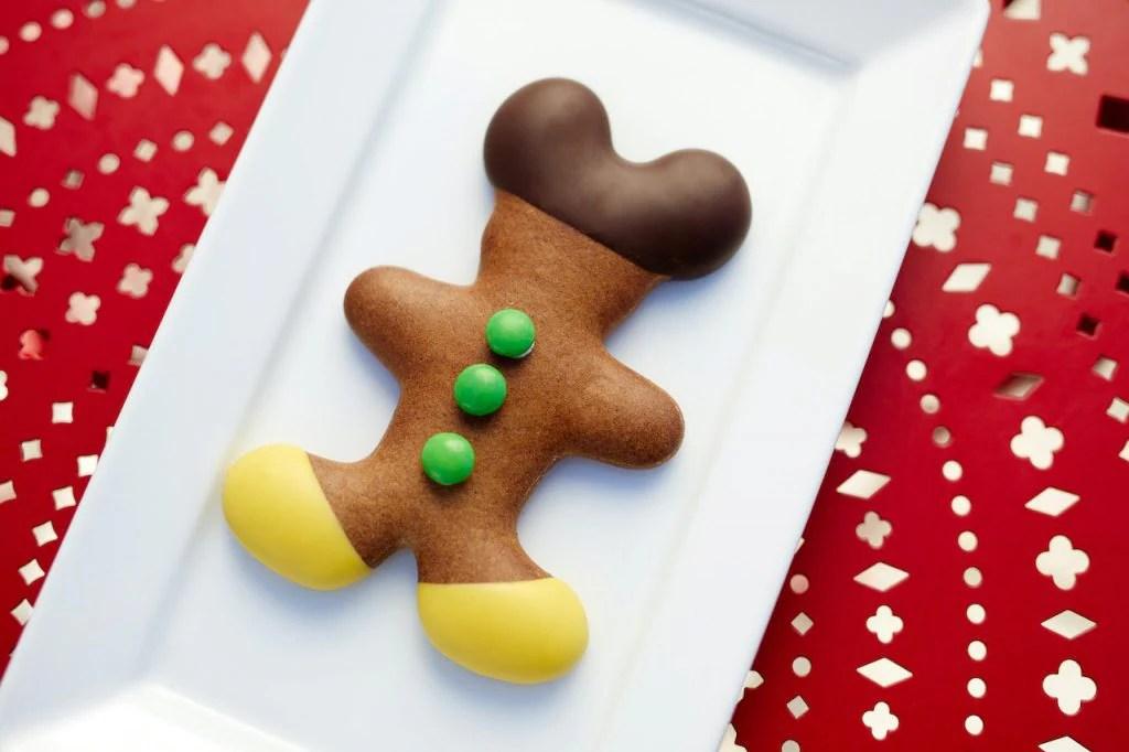 Gingerbread Mickey from BoardWalk Bakery