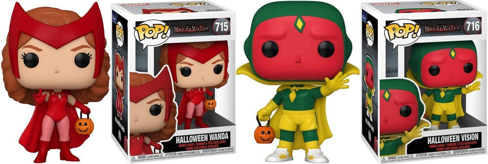 WandaVision Funko Pop Halloween