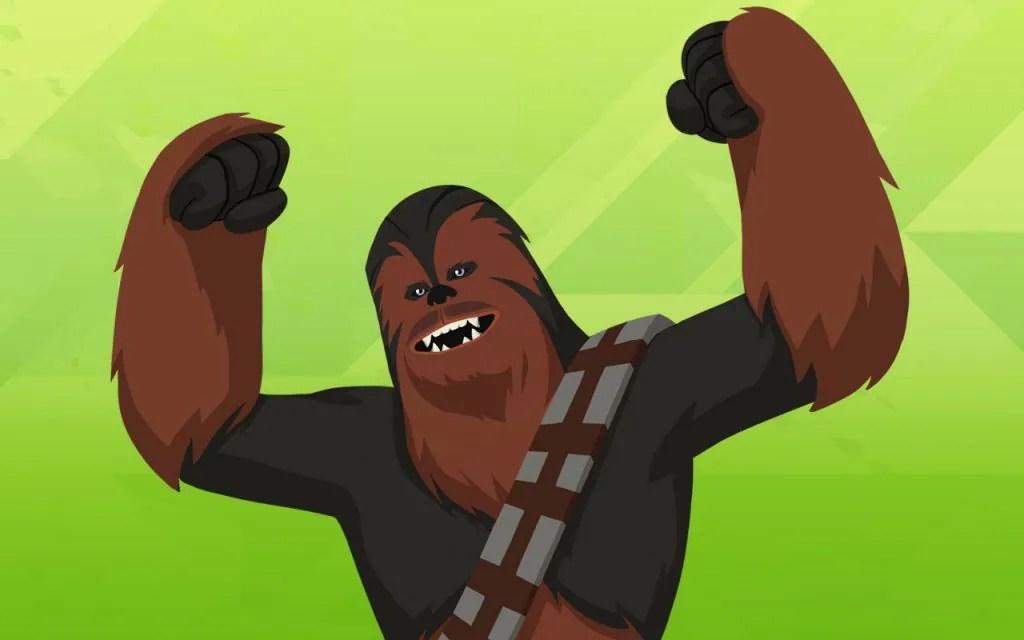 Chewbacca graphic