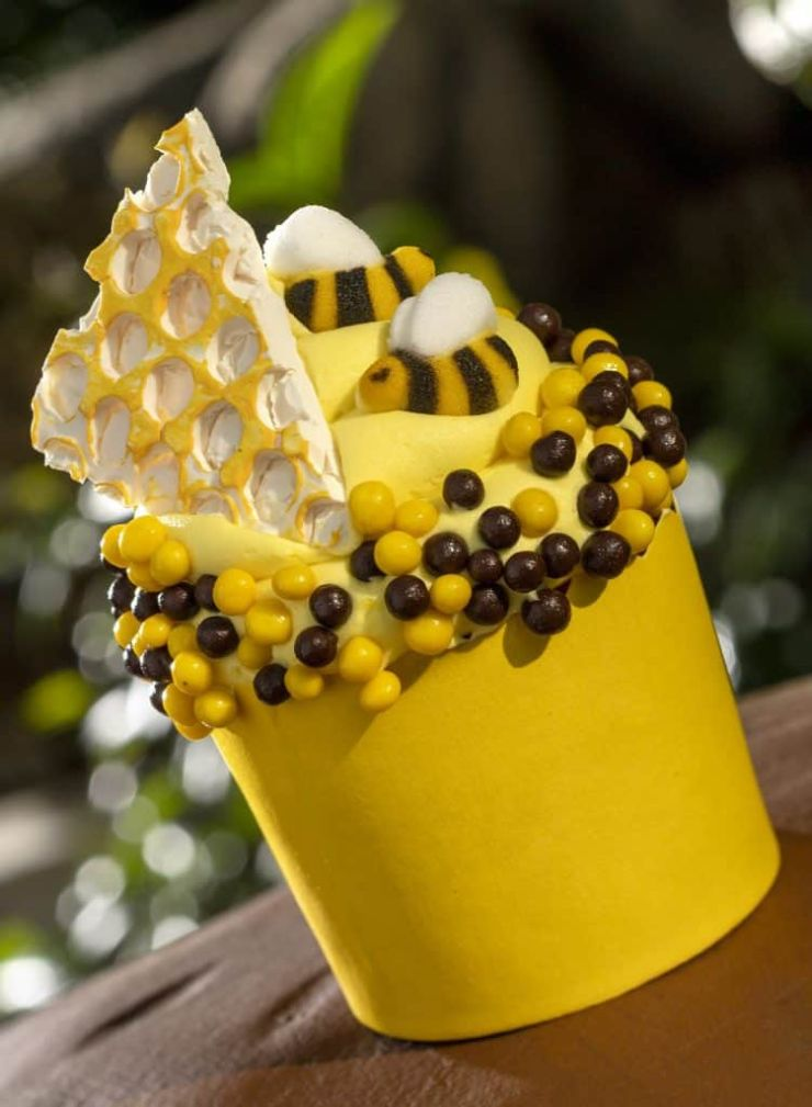 Honey Bee Cupcake from Creature Comfort's at Disney's Animal Kingdom