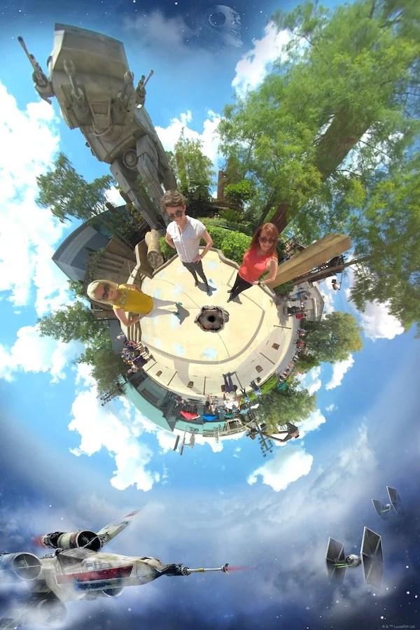 Tiny World Magic Shot at Disney's Hollywood Studios