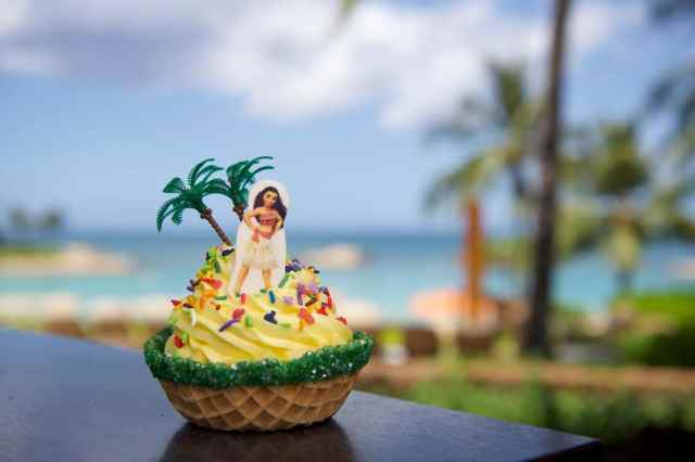 Moana-themed DOLE Whip Fresh Fruit Sundae