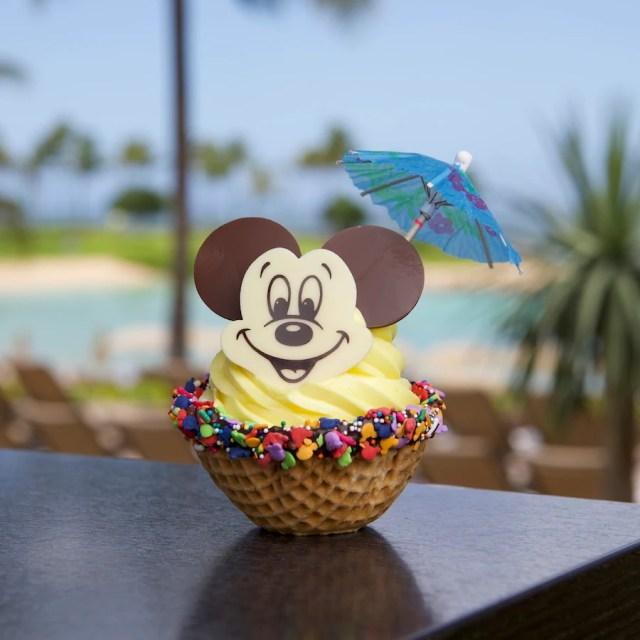 Mickey Waffle Bowl treat