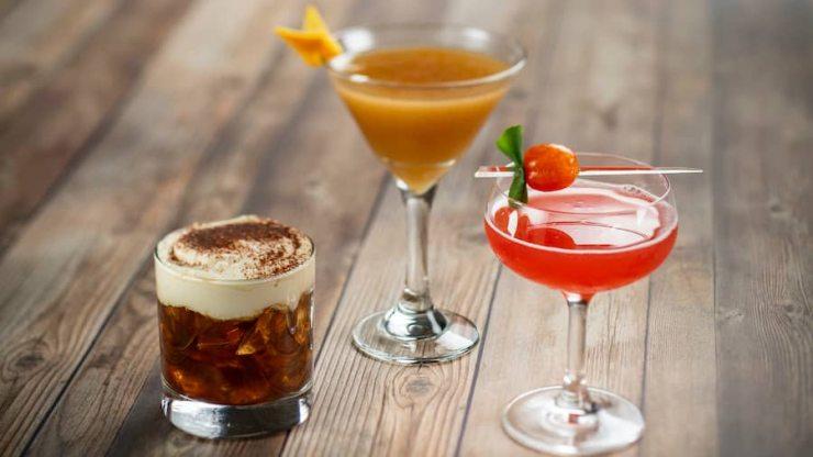 Drinks from Steakhouse 71