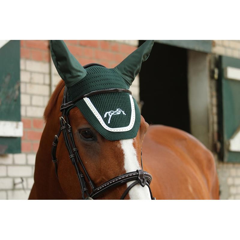 bonnet pour cheval point sellier vert