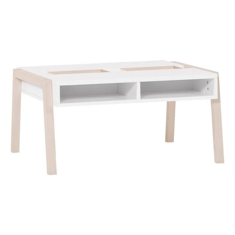 table basse blanche spot young pour chambre enfant