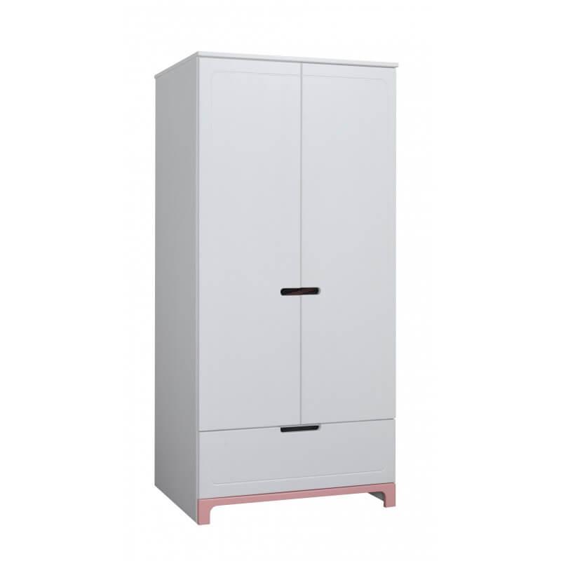 armoire blanche mini deux portes pour chambre d enfant