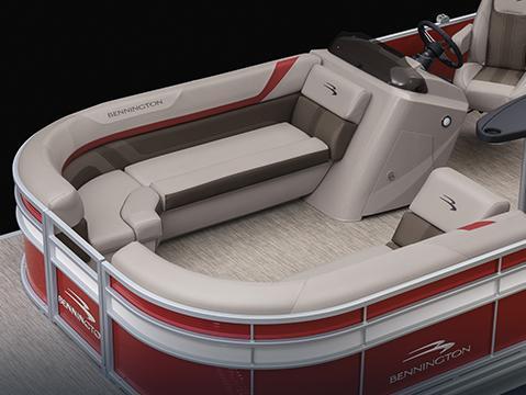 luxury pontoon furniture layouts