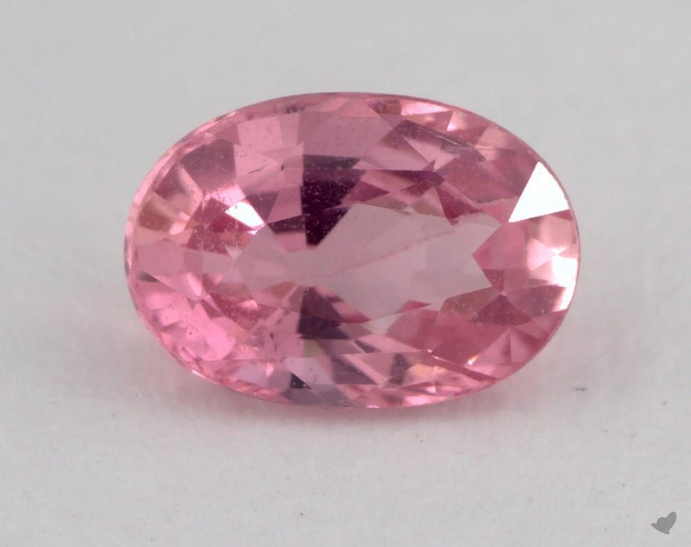 Gemstones Pink Sapphire 096 Carat Oval Sku 15995