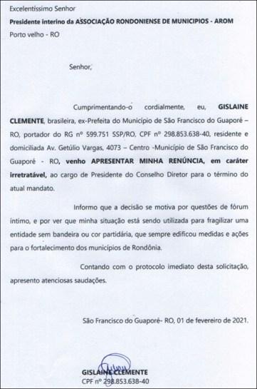 Prefeito de Urupá é eleito novo presidente da Associação Rondoniense de Municípios; Lebrinha renuncia
