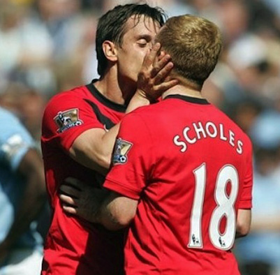 A soccer kiss has England talking - Outsports