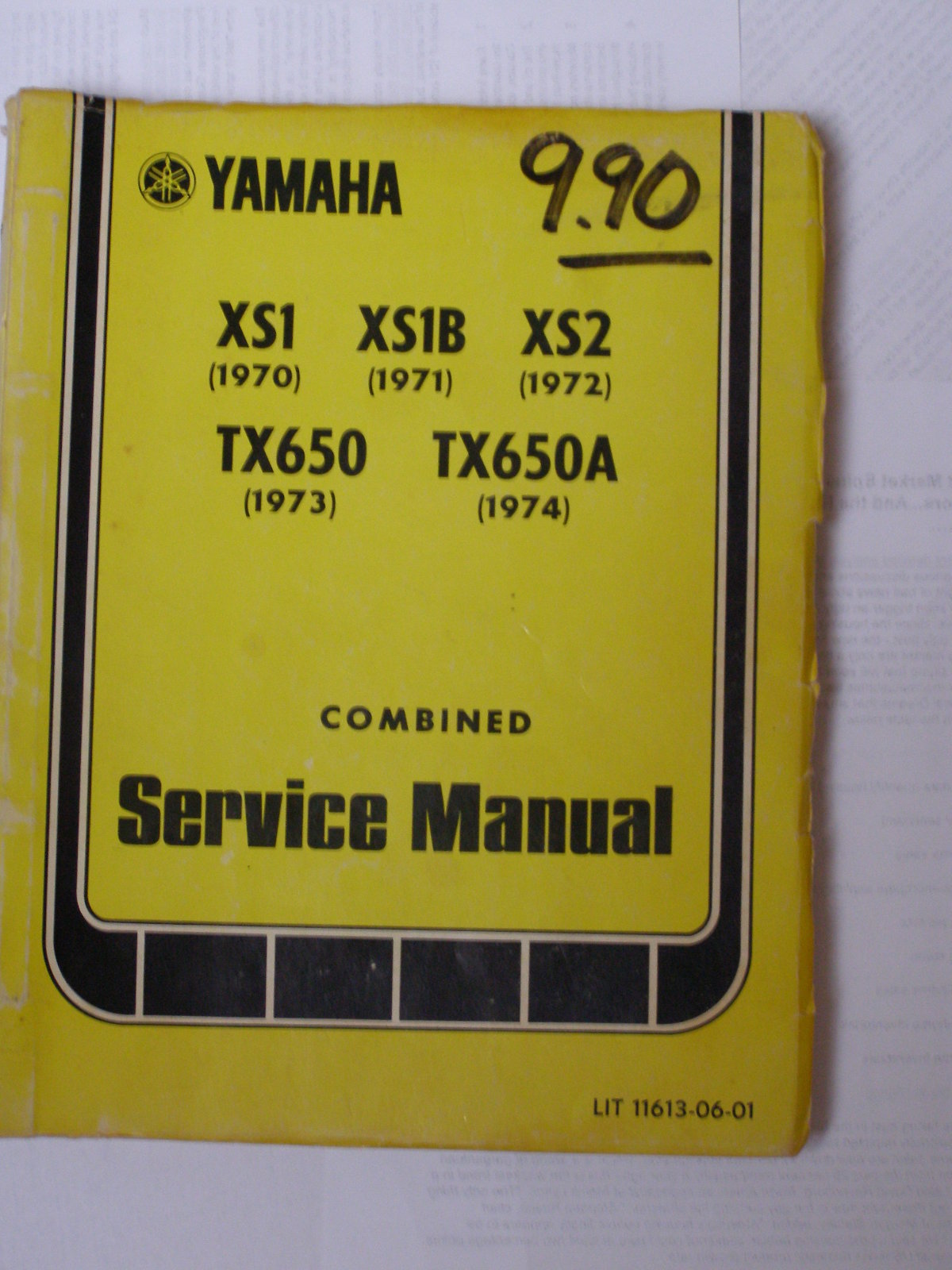 web xs650 xs1 xs2 tx650 tx650a service manual 1970 1974 thexscafe XS2 Bow String at gsmportal.co