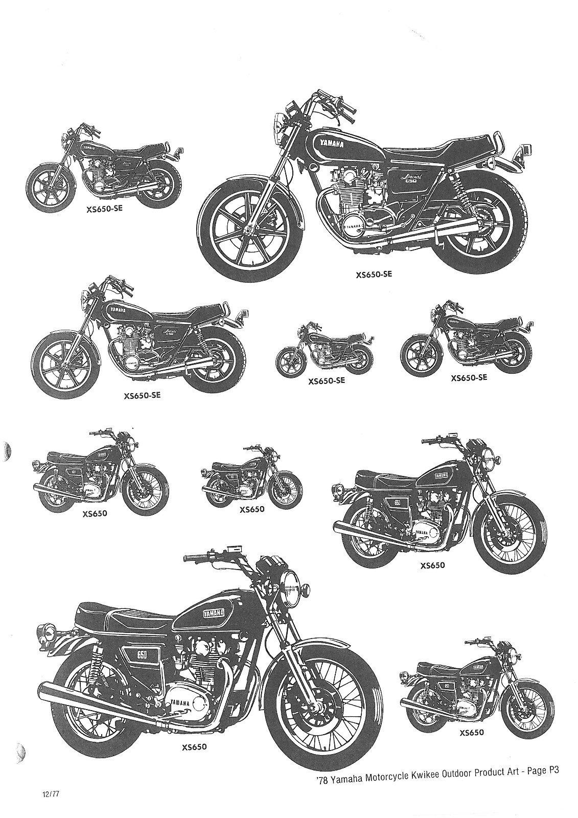 Xs650 Yamaha Adplanner 78