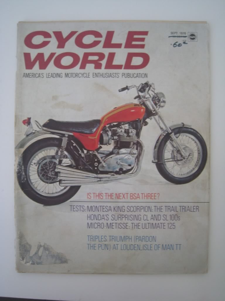 Xs650 Tracy Bodies Thexscafe Kawasaki Wiring Diagrams For 1969 1972 H1 Triples Cycle World Sept 70
