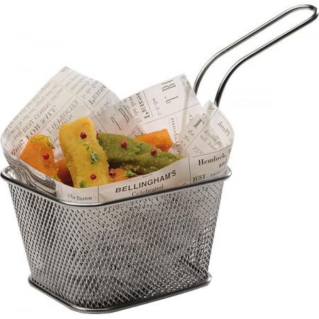Poze Cos mini-fry din inox, 13.5x10.5 cm