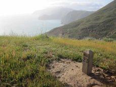 on the Trans-Catalina Trail
