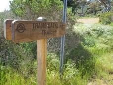 TCT Trailhead Sign