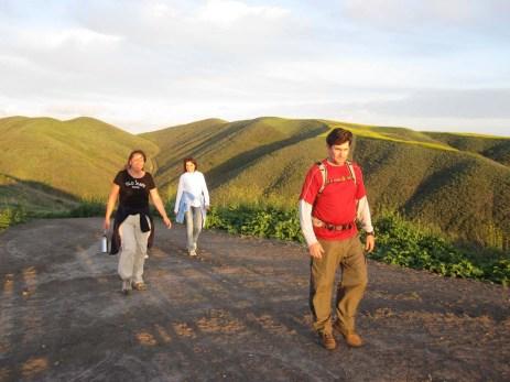 On the ridgeline
