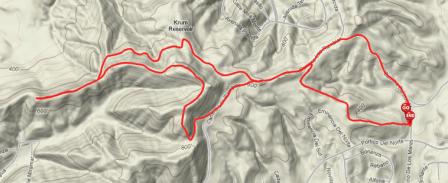 Roller Coaster Ridge map
