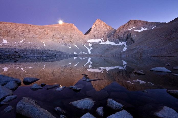 Junction Peak at Lake 12,100