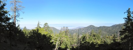 View over the inland empire from about the halfway point