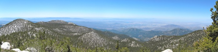 Panorama from Mt. San Jacinto