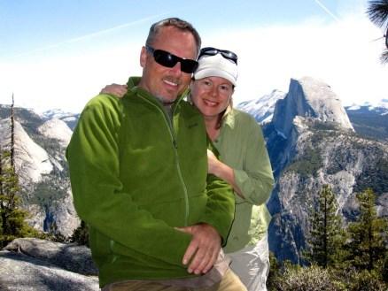 Jeff & Joan at Glacier Point