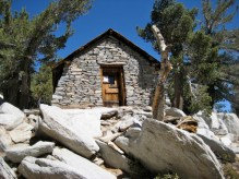Hut near Mt San Jacinto