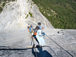 Cables to Half Dome