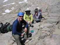 Fellow hikers on Pinchot Pass