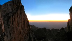 Sunrise Panorama on Whitney