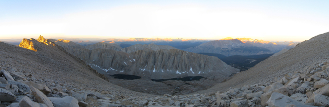Western Panorama from Whitney