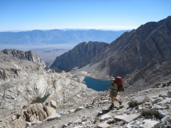 Descending to Whitney Portal