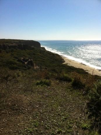 San Onofre coastline