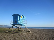 Doheny lifeguard tower