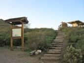 Steps to Campfire Center