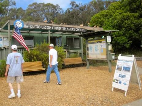 The Batiquitos Lagoon visitor center