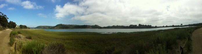 Batiquitos Lagoon panorama